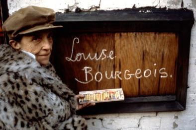 Louise Bourgeois, 1980. Photo: Mark Setteducati©Louise Bourgeois Studio
